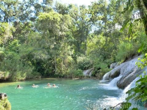 Nicho Waterfall Swim